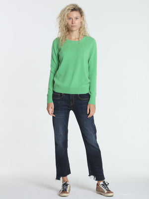 Core Cashmere Crew - Green