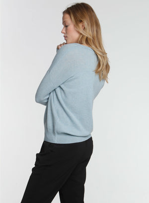 CORE Cashmere BF Vee - Sage