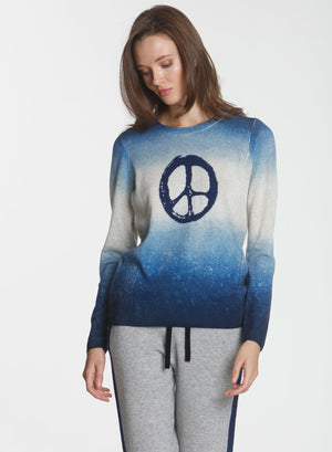 Peace Bubble Crew - Denim