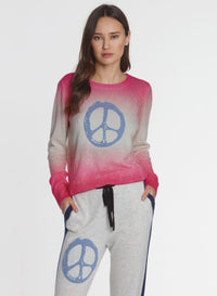 Peace Bubble Crew - Pink