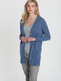 Luxe Light Duster - Dutch Blue