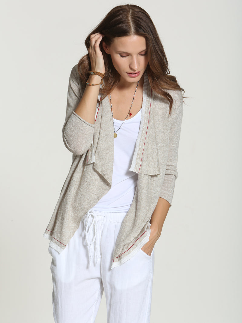 Breeze Cardigan - Sand