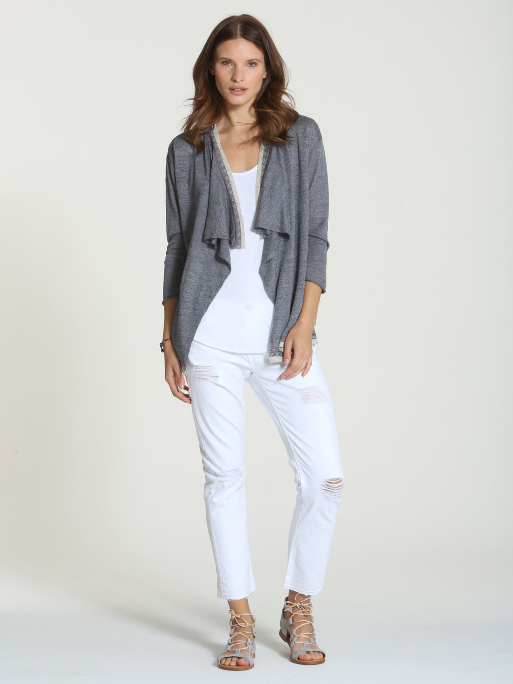 Breeze Cardigan - Slate