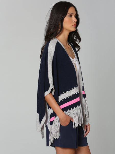 Luxe Whipstitch Poncho