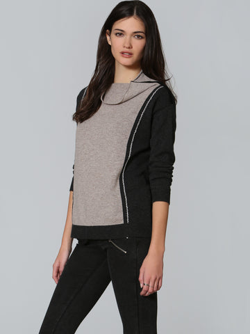 Luxe Mock Neck - Charcoal