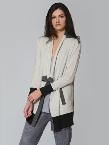 Luxe Travel Cardigan - Ash