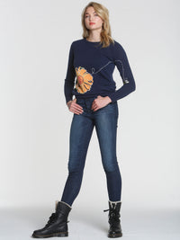 Luxe Bumble Bee - Navy
