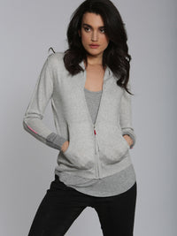 Luxe Lounge Hoodie - Ash