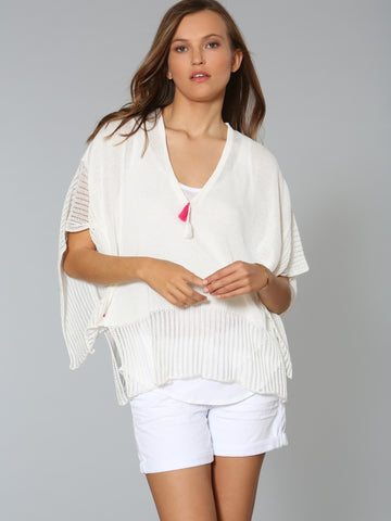 Caftan Coverup - White