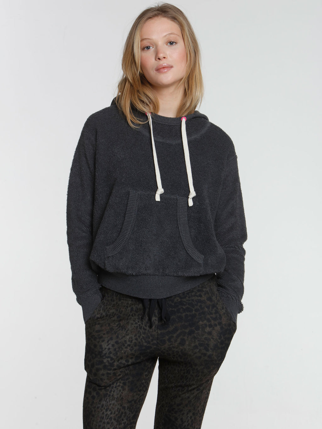 Terry Hoodie - Charcoal