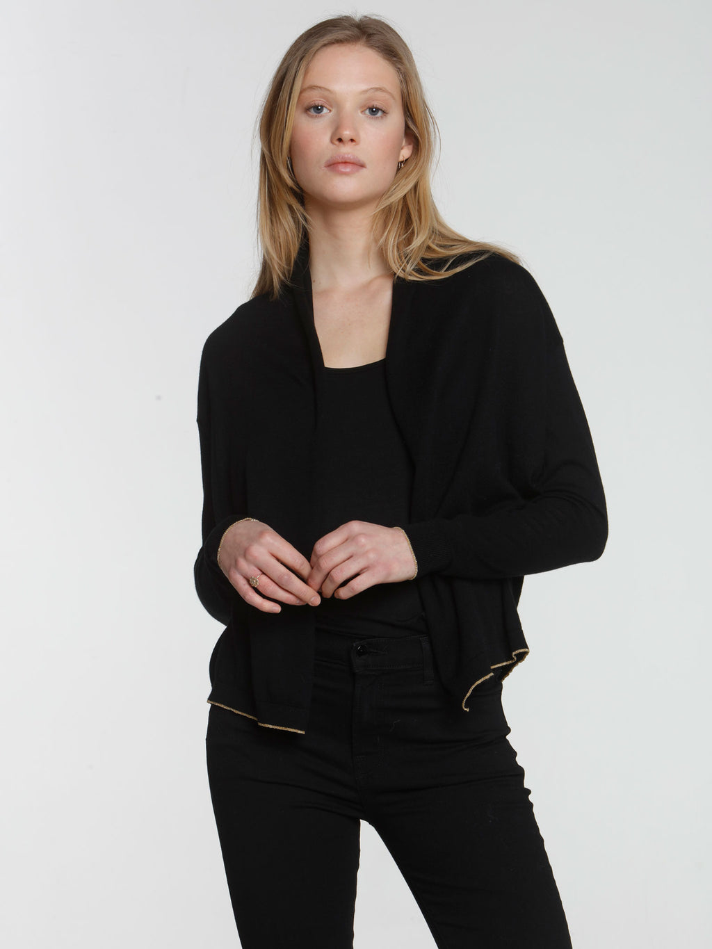 Day & Night Cardigan - Black