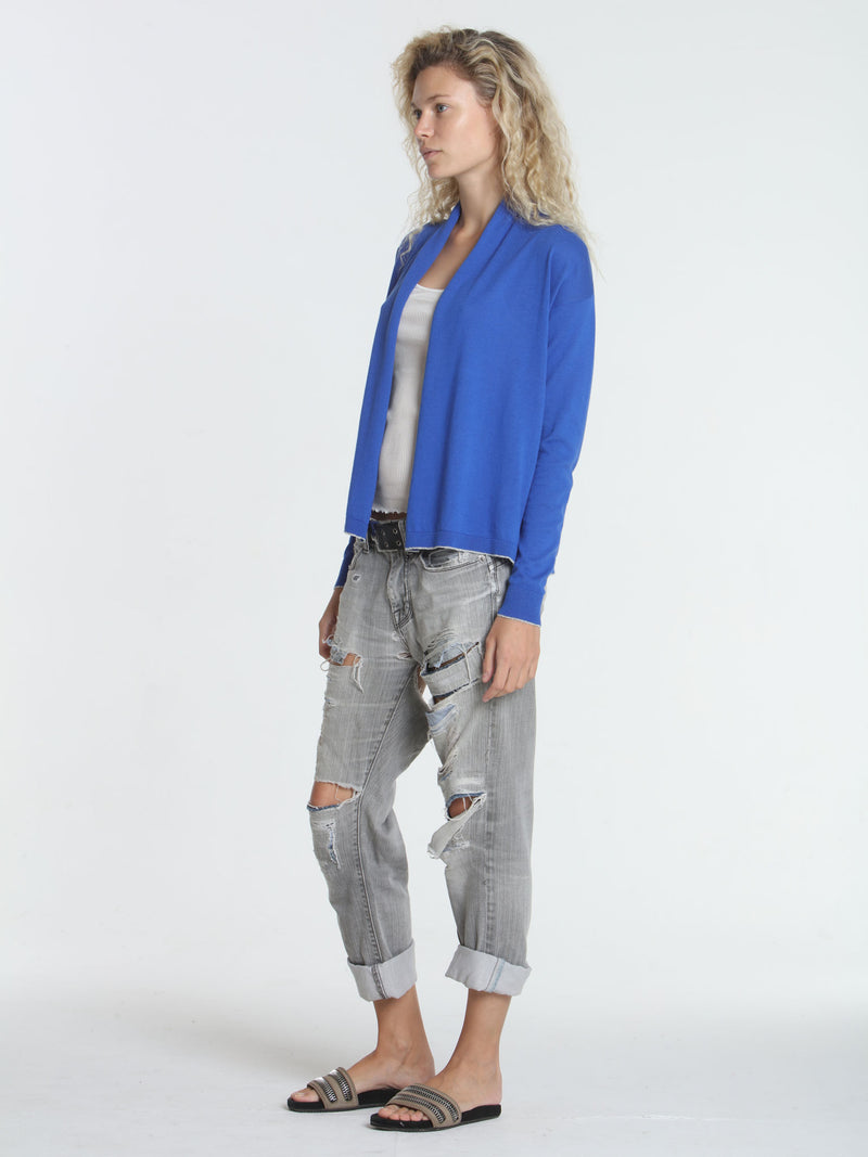 Day & Night Cardigan - Cobalt