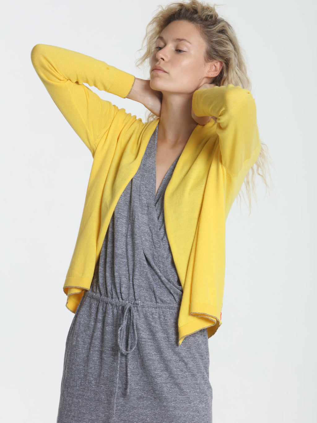 Day & Night Cardigan - Goldenrod