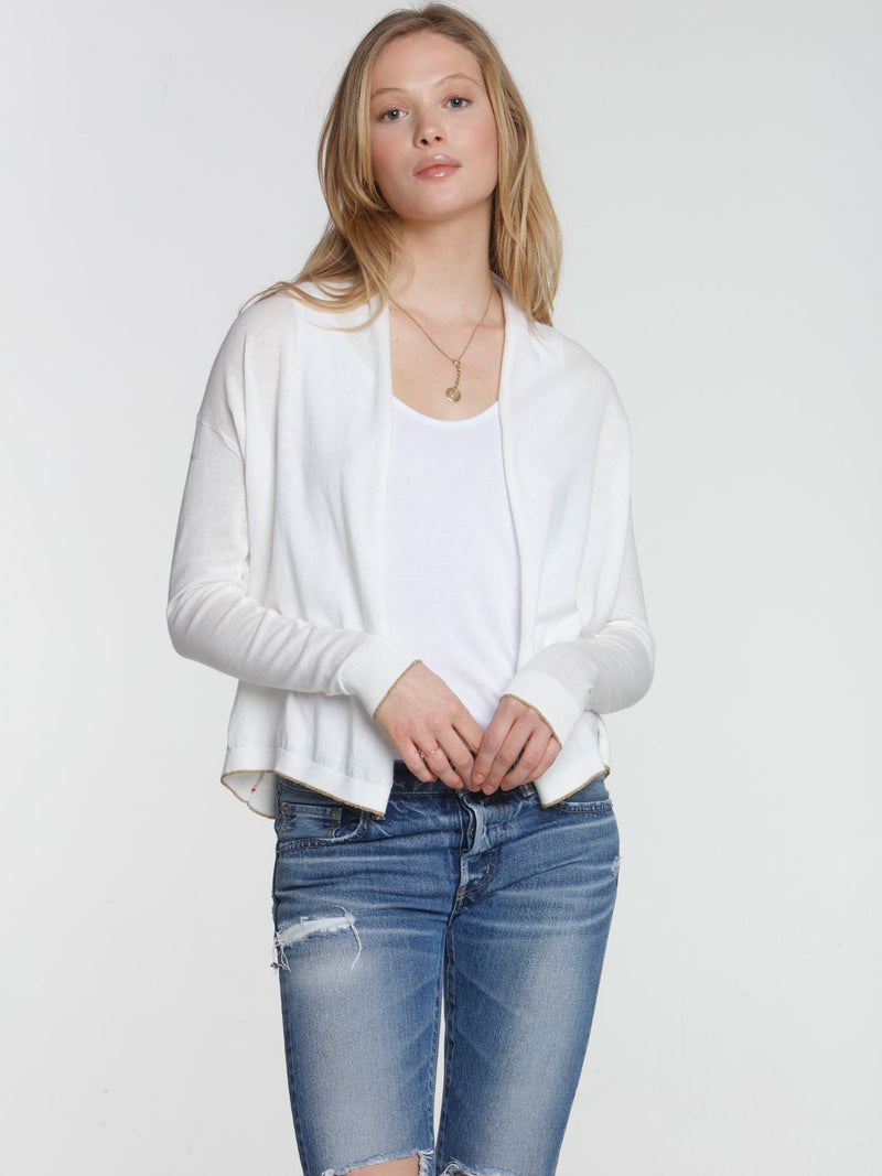 Day & Night Cardigan - White