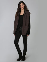 Cozy Mix Cardigan - Mink