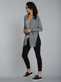 Cool Groove Cardigan - Thunder