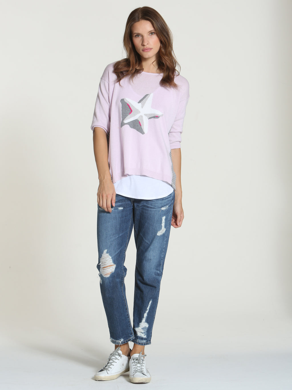 Cool Starfish Tee - Dogwood