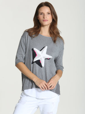 Cool Starfish Tee - Thunder