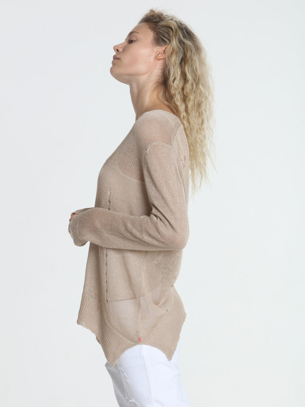 Beach Side Tunic - Sand