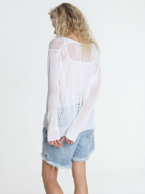 Beach Side Tunic - White