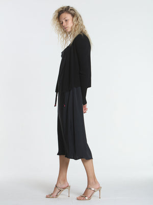 Two Ways Cardigan - Black