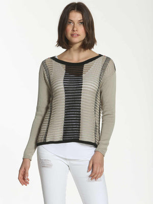 T-Bar Tunic - Almond
