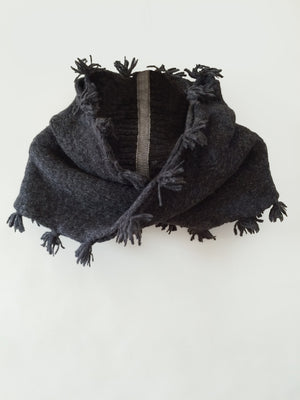 Twisted Fringe Scarf
