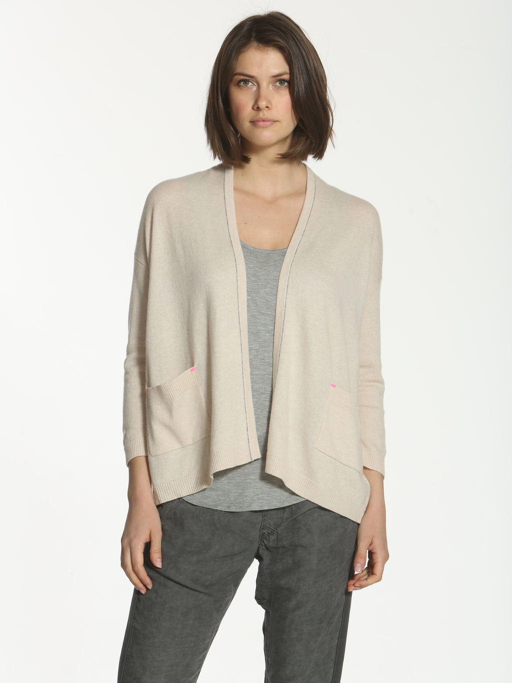 Luxe Chill Cardigan - Oatmeal