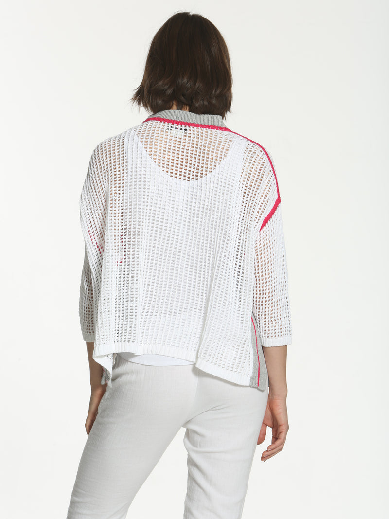 Refresh Cardigan - White