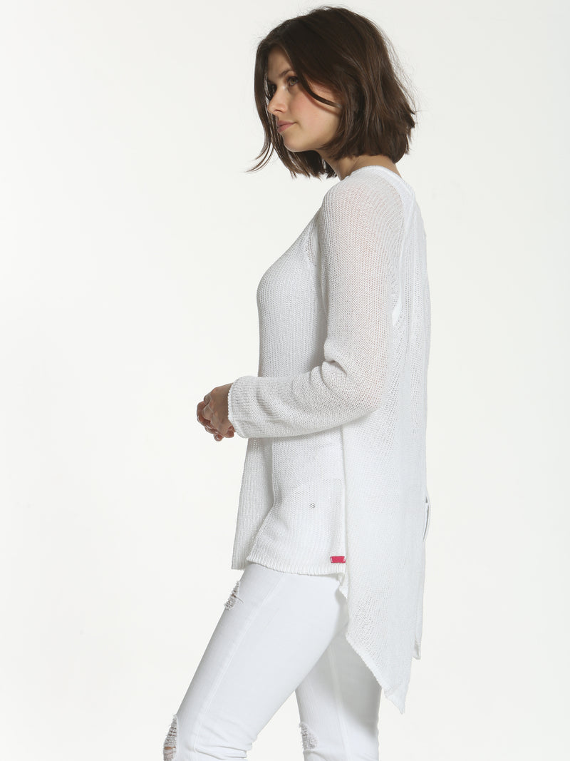 Tux Tail Tunic - White