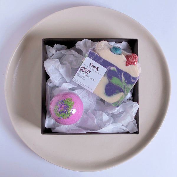 Poison Berry Bath Set