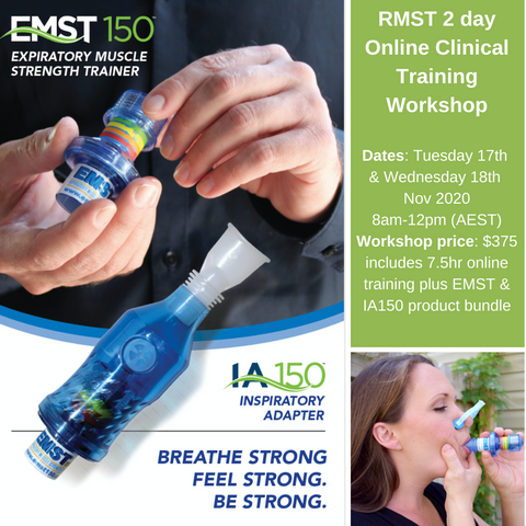 2020 RMST Respiratory Muscle Strength Online Clinical Training Workshop
