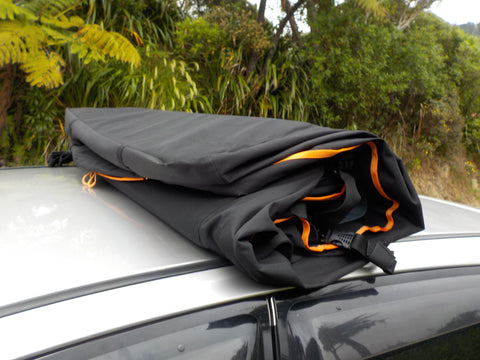 555 Litre Car Roof Bag Road Trip Kit