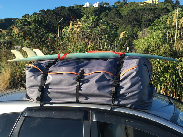 425 Litre Car Roof Bag Road Trip Kit