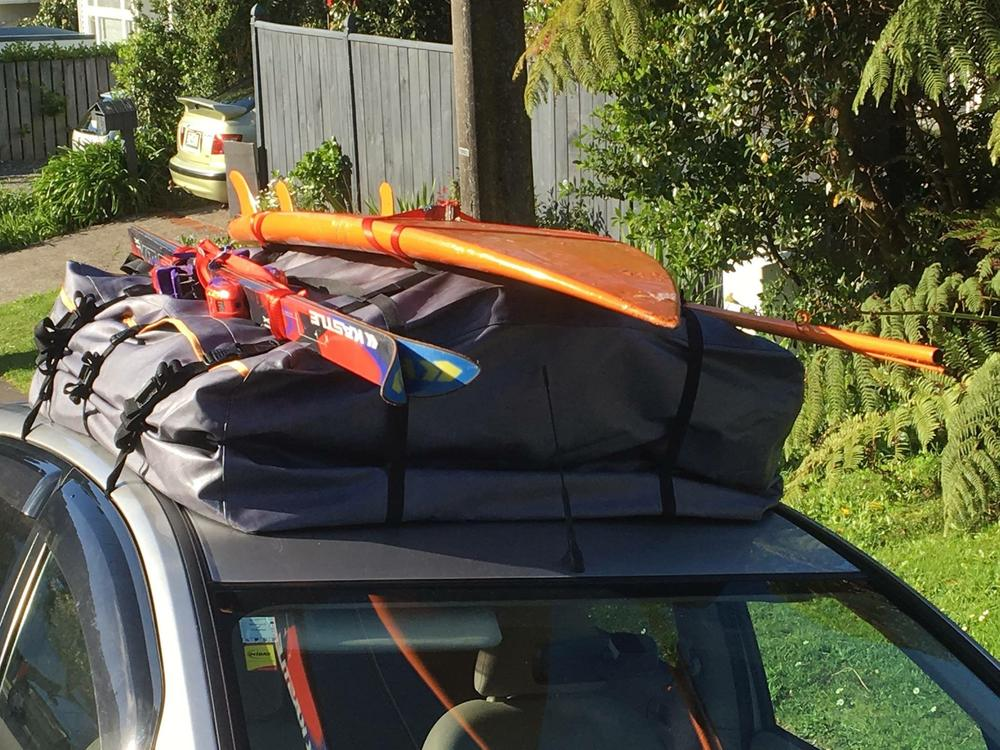 Road Trip Kit's tough, waterproof roof bags are awesome & great value! Forget the old roof rack & roof box combo - roadtripkit.co.nz is reinventing road trips!