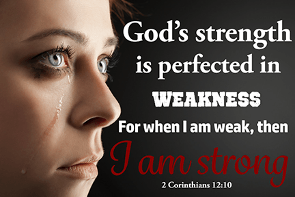 I am Strong Scripture Printable