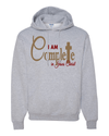 I Am Complete Hooded Sweatshirt - Small / Ash - Christian T-Shirt | Christian Gifts | Christian Apparel - 2