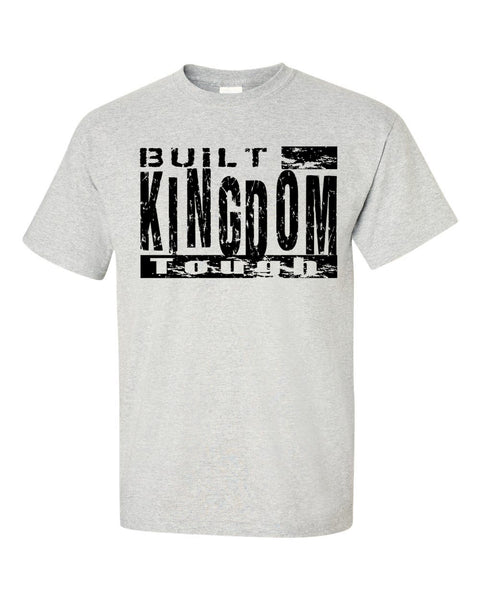 Built Kingdom Tough Men's Crew Neck T-Shirt