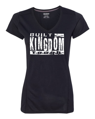 Built Kingdom Tough Womens Performance Tee (V-Neck)
