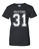 Proverbs 31Classic Fit Crew Neck Tee *Ships Same Day* - Small / Black - Christian T-Shirt | Christian Gifts | Christian Apparel - 1