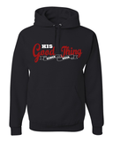 His Good Thing Since....Custom Ladies Hoodie - Small / Black - Christian T-Shirt | Christian Gifts | Christian Apparel - 7