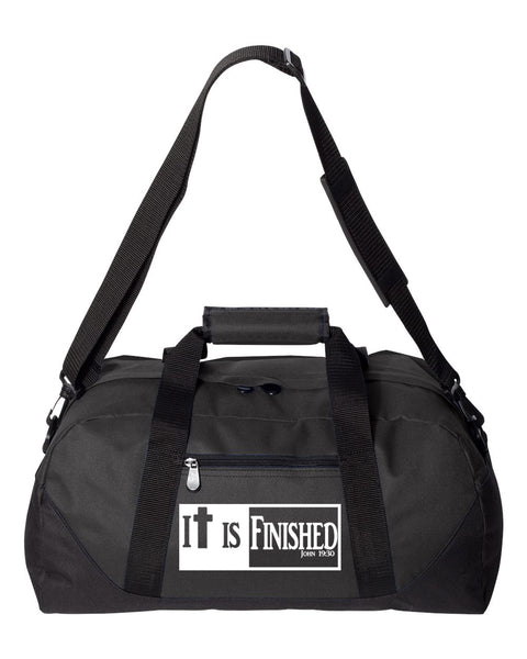 It is Finished Duffel Bag