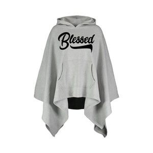 Blessed Poncho Hoodie 2