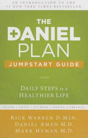 The Daniel Plan Jumpstart Guide: Daily Steps to a Healthier Life -  - Christian T-Shirt | Christian Gifts | Christian Apparel