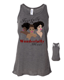 Fearfully and Wonderfully Made II Flowy Racerback Tank -  - Christian T-Shirt | Christian Gifts | Christian Apparel - 7