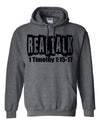 Real Talk Hooded Sweatshirt