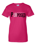 Powerfully Purposed Classic Fit Women's Tee -  - Christian T-Shirt | Christian Gifts | Christian Apparel - 1