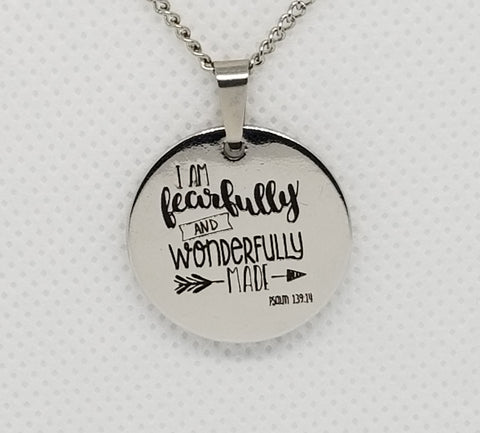 Fearfully & Wonderfully Made Pendant Necklace
