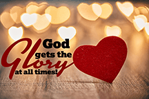 God Gets the Glory Scripture Printable