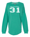 Proverbs 31 Dolman Sleeve Sweatshirt - Small / Jade - Christian T-Shirt | Christian Gifts | Christian Apparel - 3